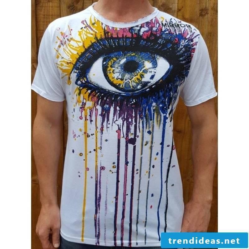 T-shirt ideas to imitate