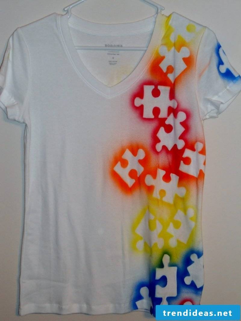 Design your own shirt with creative motives