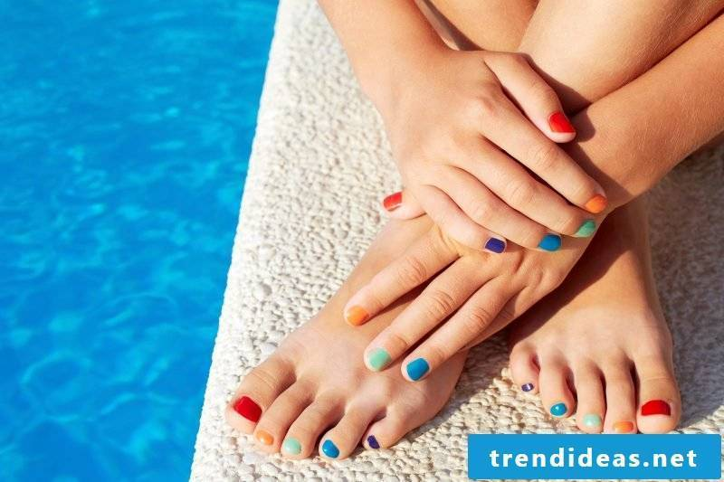 Paint toenails - So many possibilities, so little space!