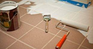 Painting old tiles - instructions in pictures + practical tips