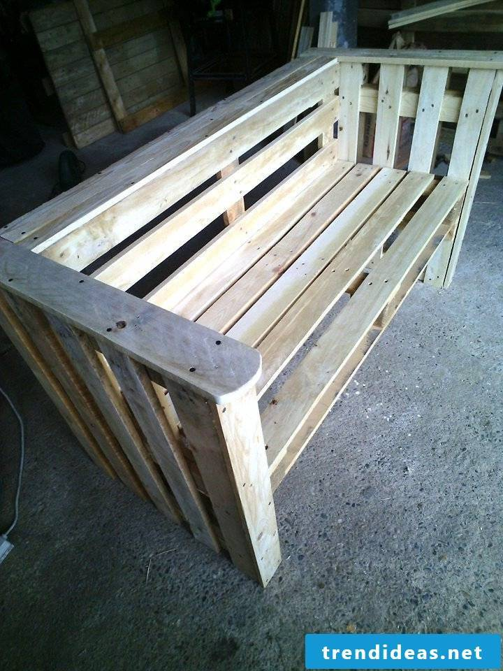 pallet furniture bank of pallets build your own step 8