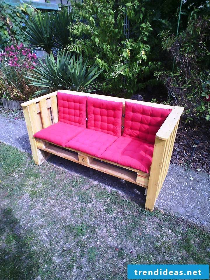 pallet furniture bank of pallets build your own step 9
