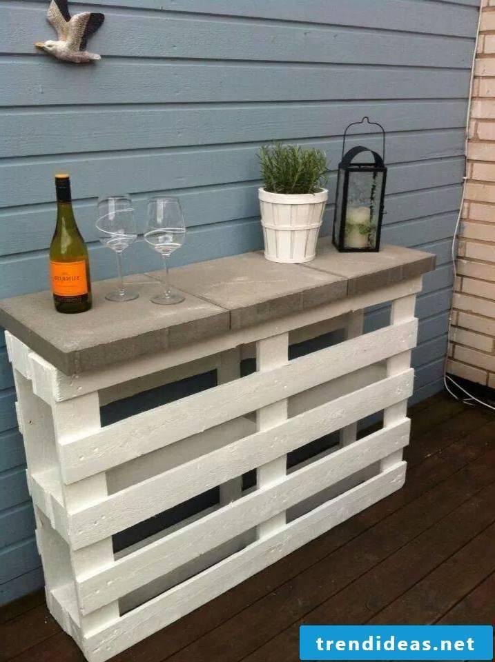 bar of pallets themselves build ideas garden furniture from pallet ideas