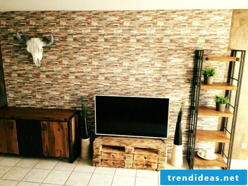build pallet furniture yourself tv table furniture from pallet table from pallet