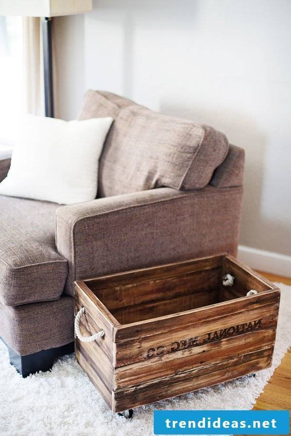 pallet furniture itself build ideas crafting boxes from pallets