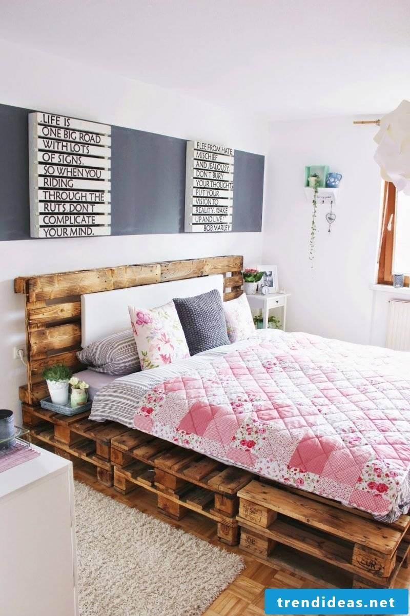 build your own pallet from pallet crafting ideas