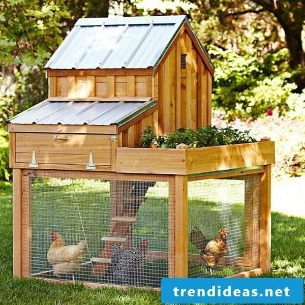 chicken steel made of pallets you can build yourself craft ideas garden furniture made of pallets