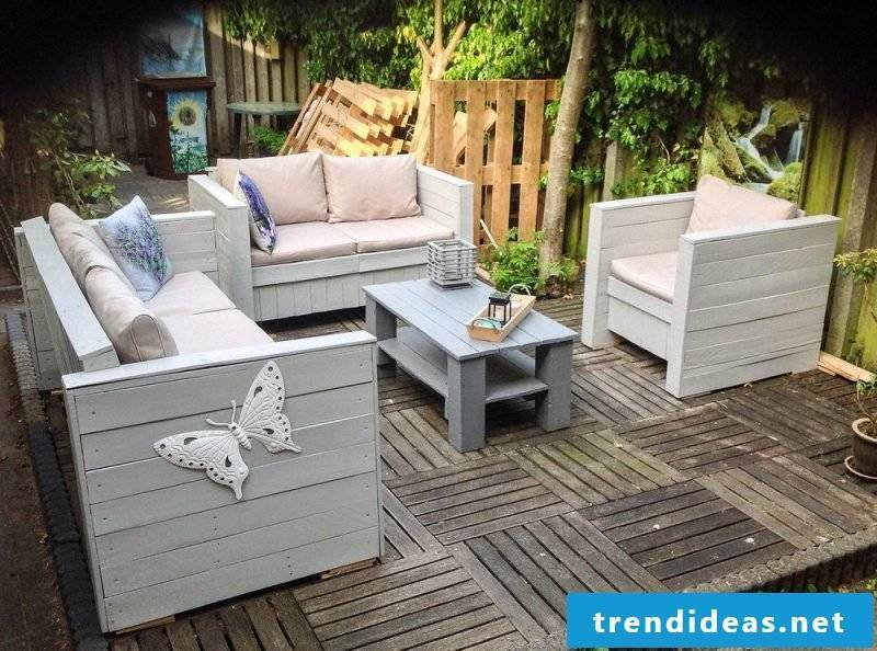 creative craft ideas garden furniture made of pallets palette furniture build yourself