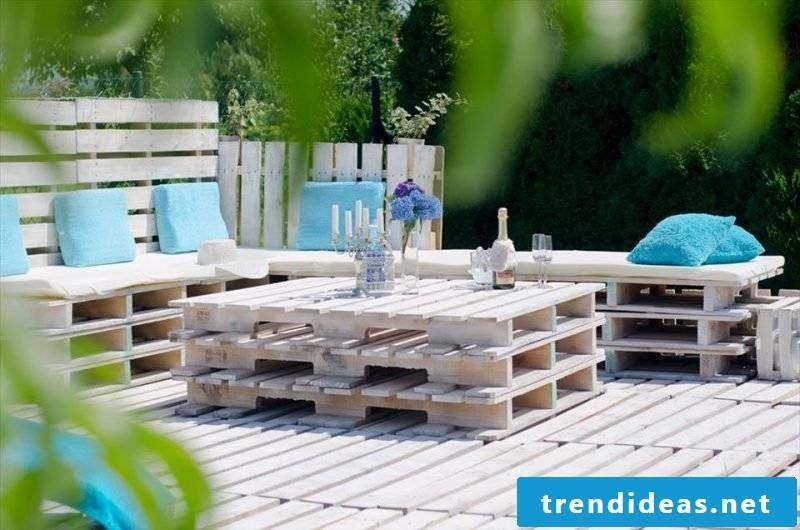 elegant garden furniture from pallets build your own table from pallets garden design craft ideas