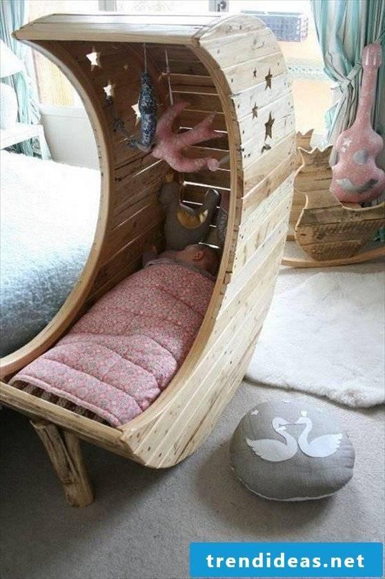 bed of pallets babys pallet furniture build yourself