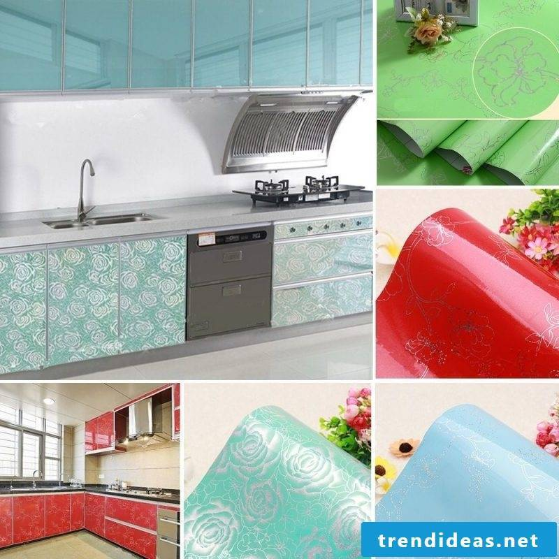 Decorating kitchen fronts