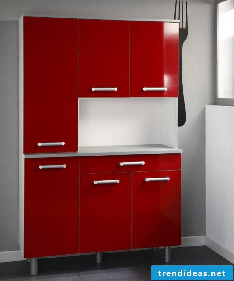 kitchen fronts sticking red