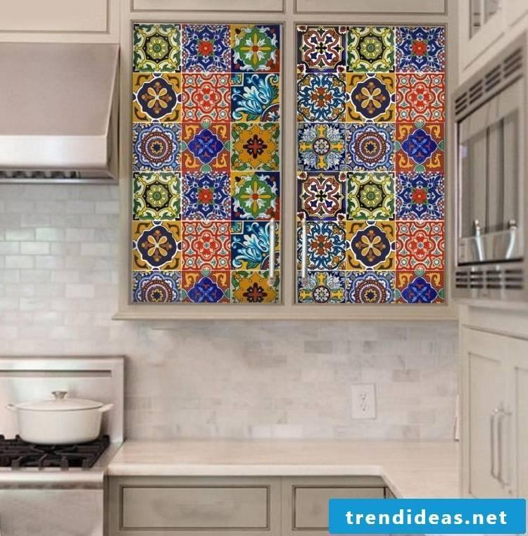 küchenfronten bekleben detailreich