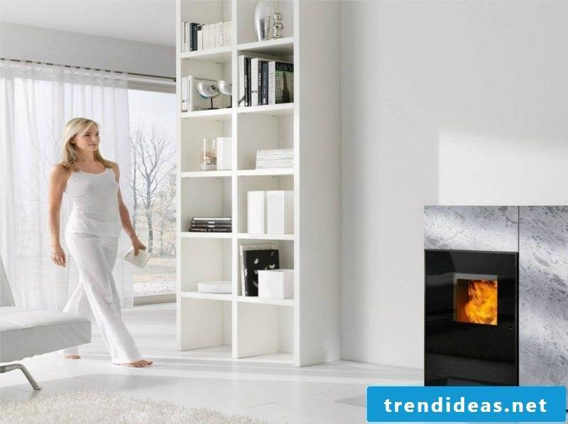 Pellet stove - heat cheap and properly