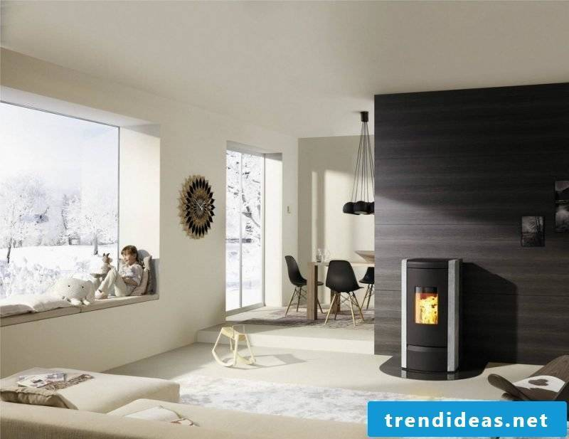 Pellet stove or stove tips
