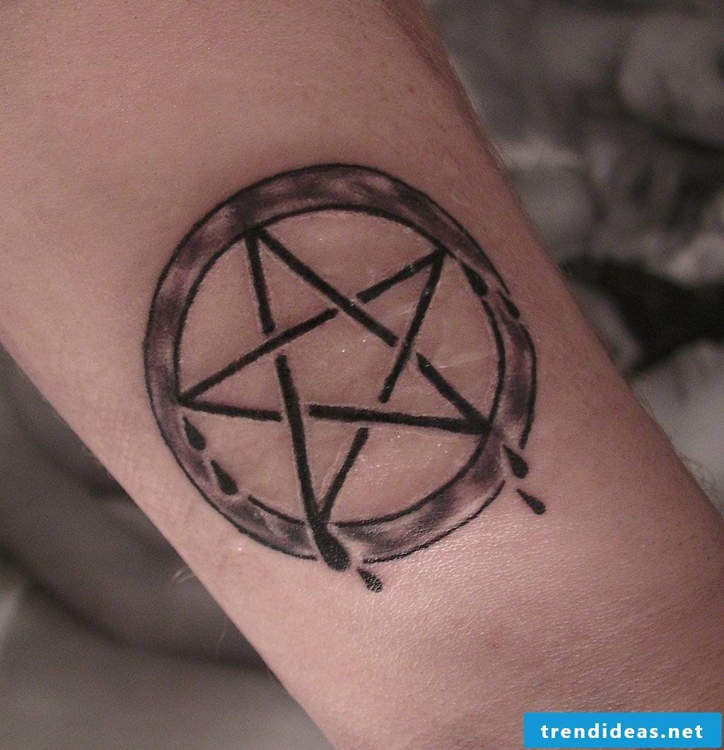 Pentacle tattoo meaning