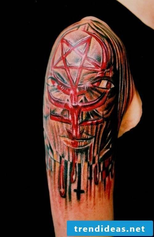 Pentacle Origin Tattoo Meaning