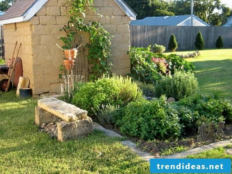 herbal garden create garden landscaping garden herbal spiral create instruction