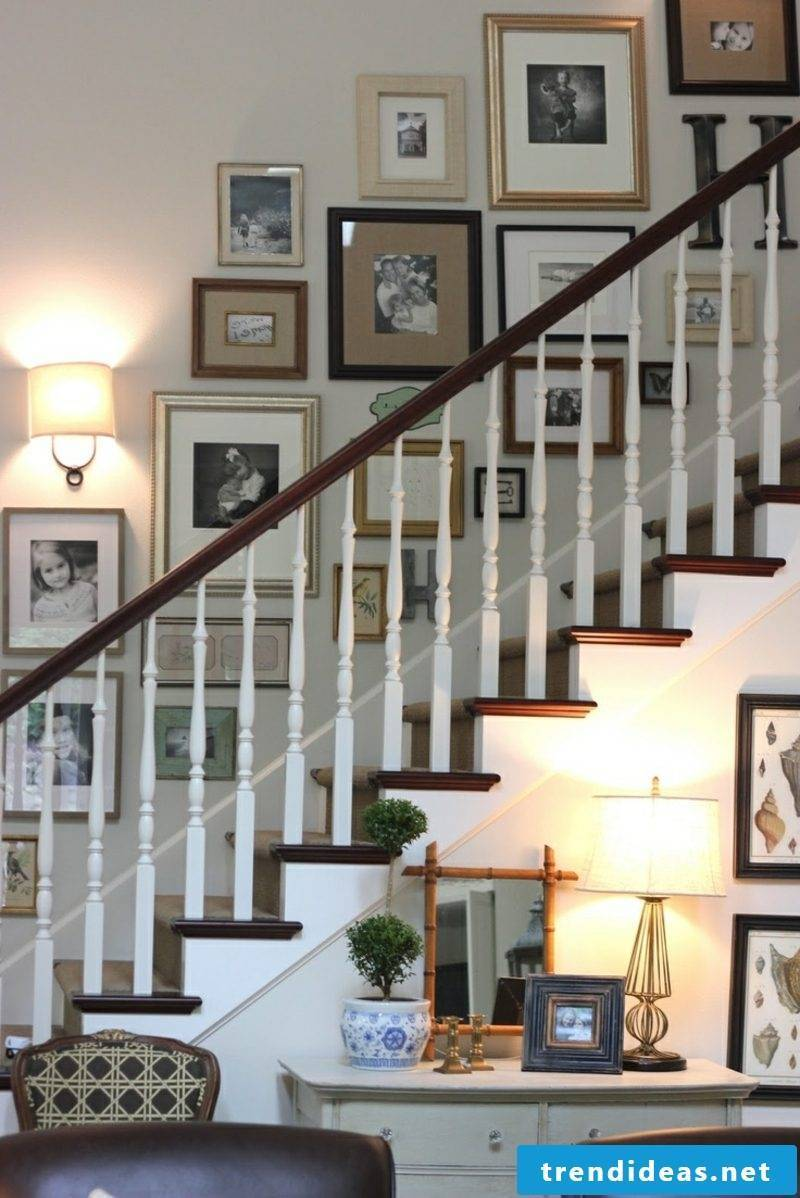 picture frame shape photo wall