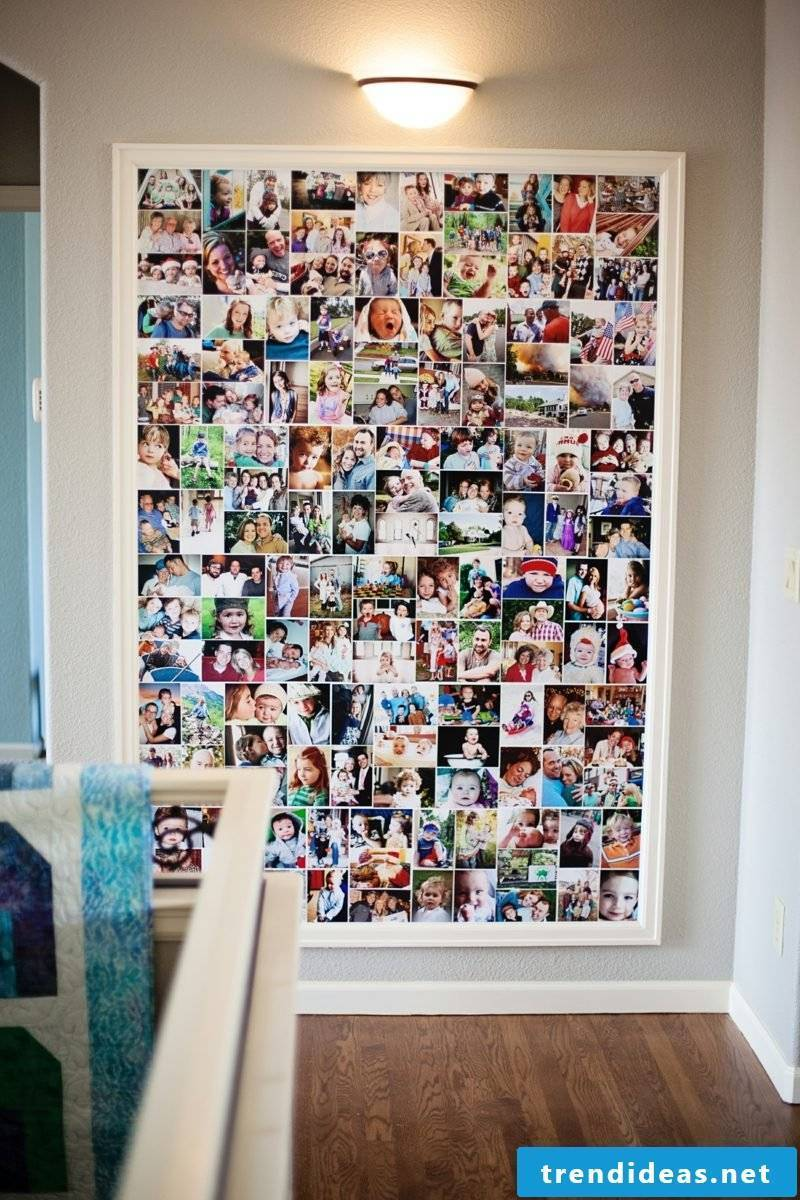 Create a picture wall