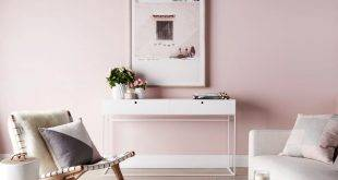 Pink color as trendy color in the decor - 50 stylish suggestions