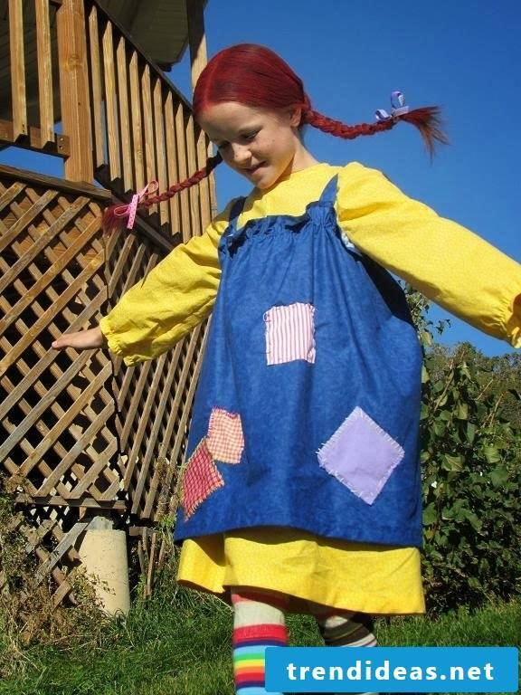 Sewing unusual and creative ideas for children's apron
