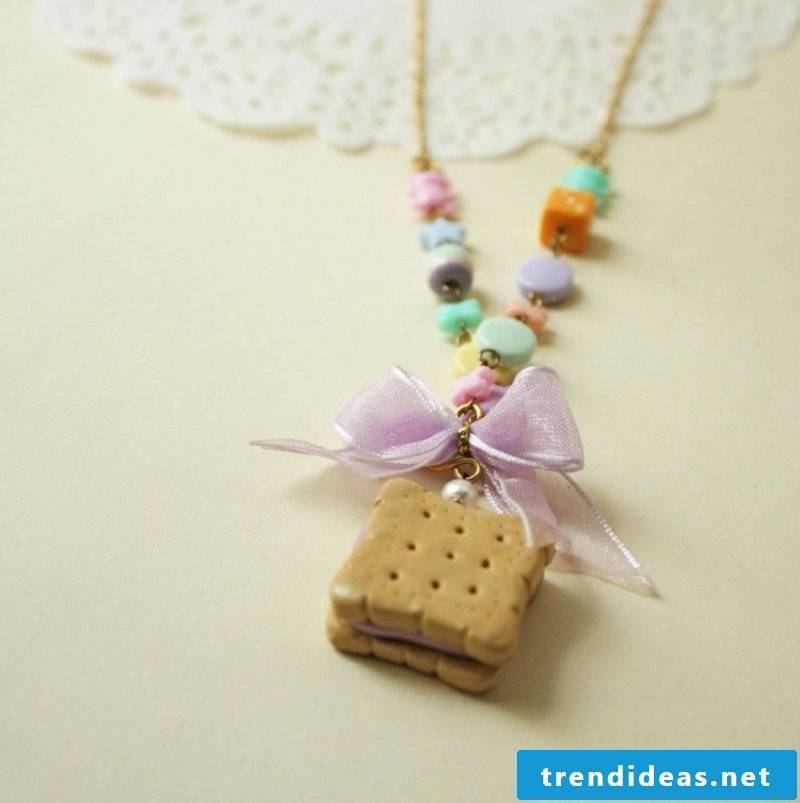 Polymer clay chain