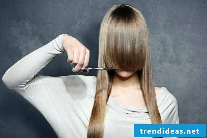 Pony cut helpful tips