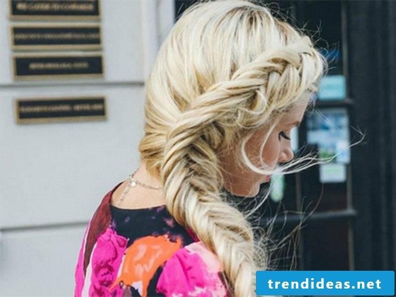 Hairstyles 2016 Longhair herringbone braid