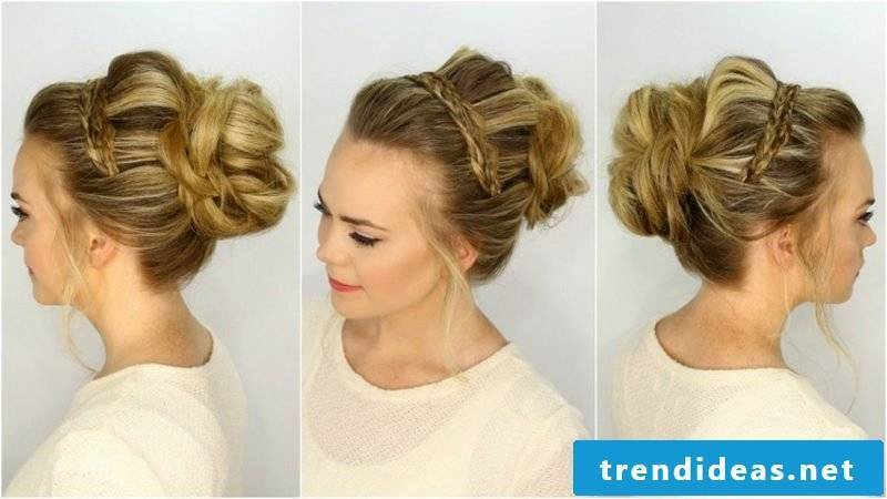 Bridal Hairstyles Long Hair Updo Dutt Braid