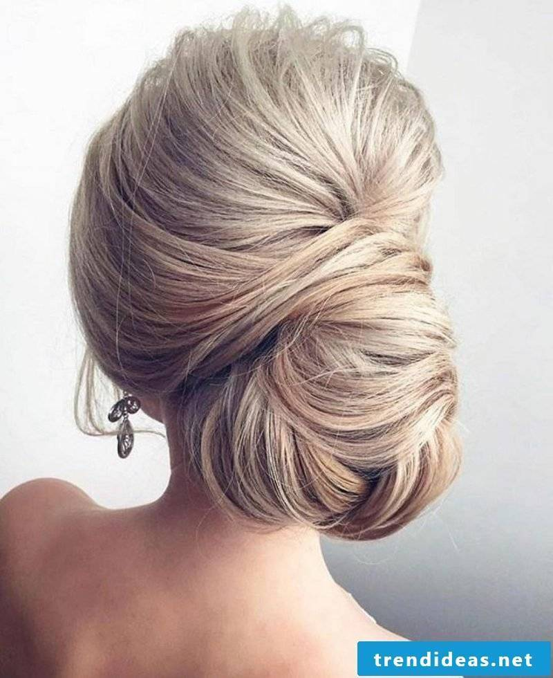 Hairstyles for long hair Chignon
