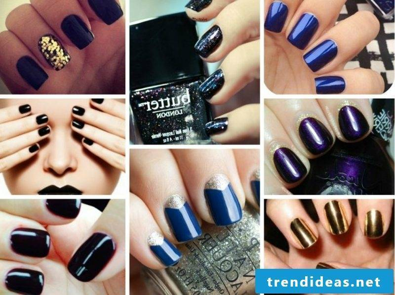 Nail pattern autumn creative ideas