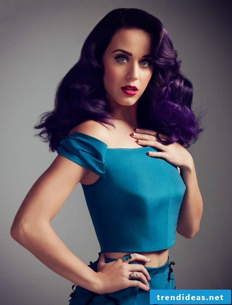 dark purple hair violet hair purple hair color trends hairstyling