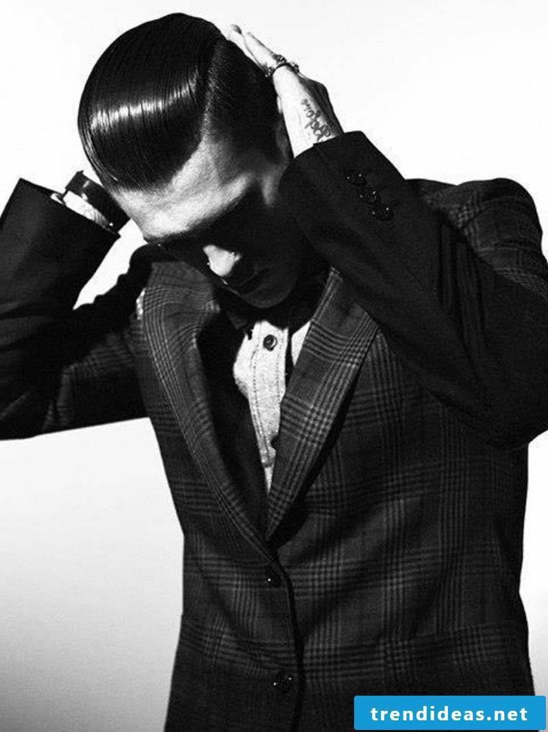 rockabilly hairstyles-men-cool-greaser-guys-rockabilly-long-hair-slicked-back