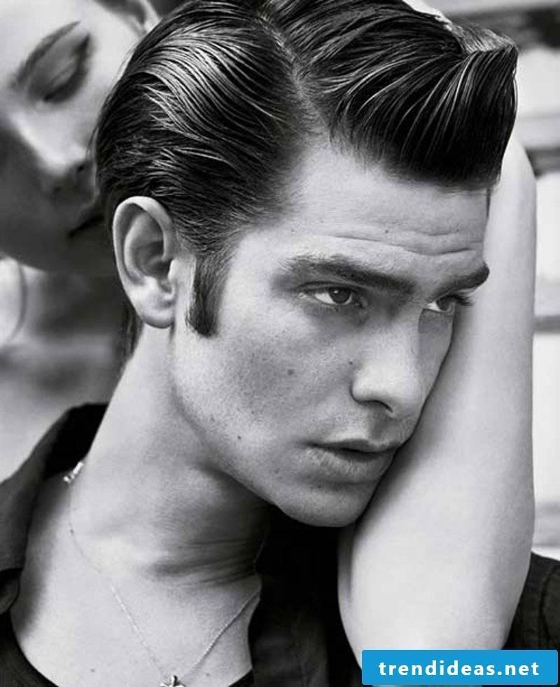 Rockabilly Hairstyles Men Rockabilly Bright Hair for Men