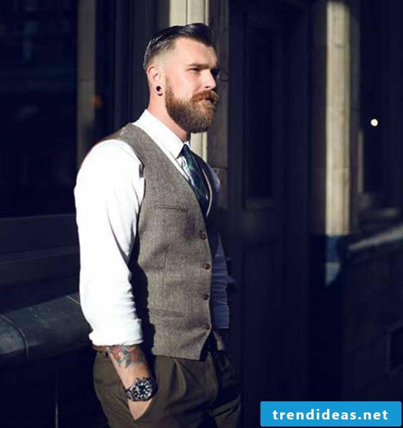 Rockabilly Hairstyles Men's Rockabilly Dark Bright Hairstyle for Men