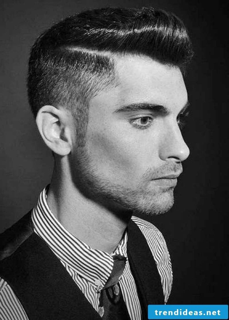 rockabilly-haircut-men-side Swept Rockabilly Hair