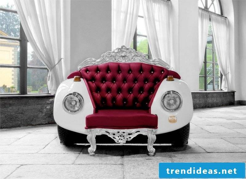 Recycling furniture is trendy!