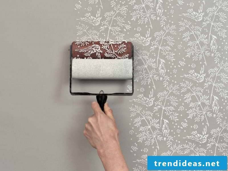walls painting ideas paint stroking renovate wall paint stroking