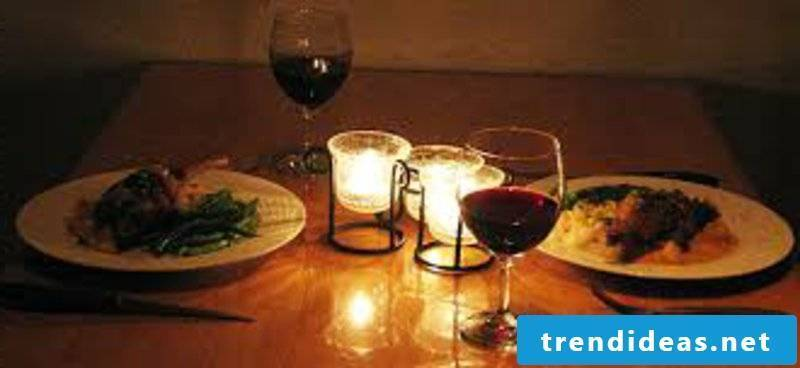 romantic ideas candlelight dinner 4