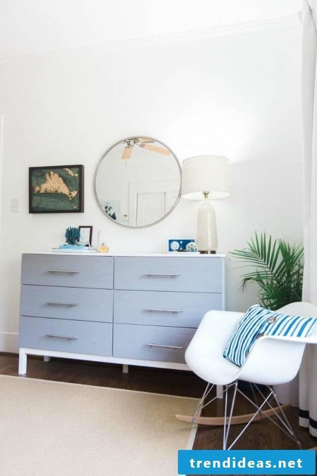 Room furnished living room Scandinavian style