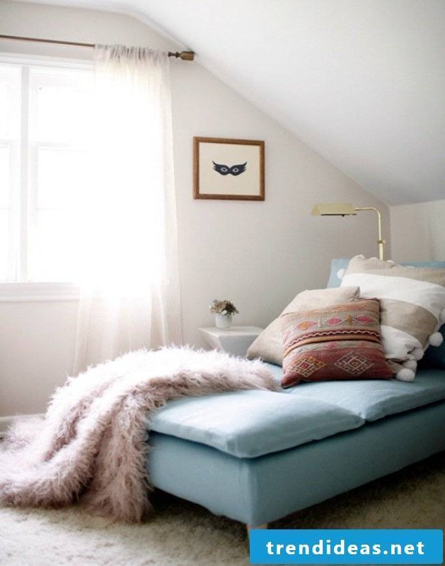Furnish and decorate the room