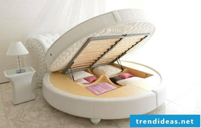 round bed model practically bedding box