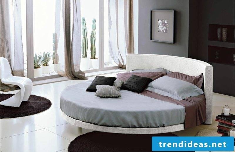 round bed maximum sleeping comfort