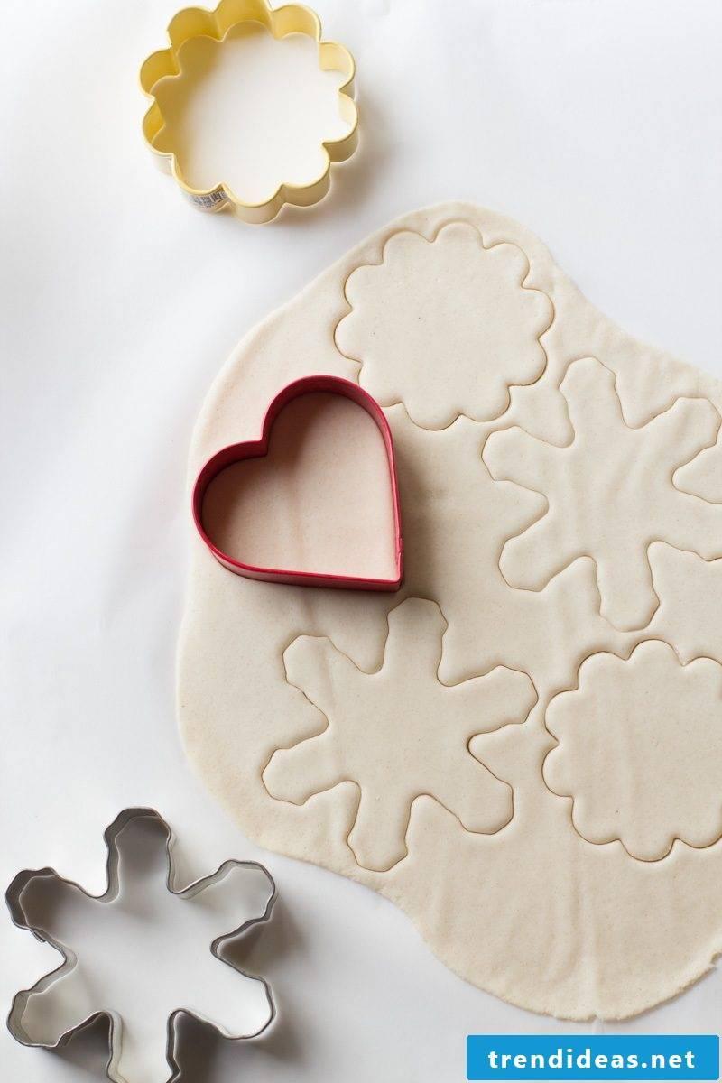 Salt dough Christmas - so you will prepare the dough