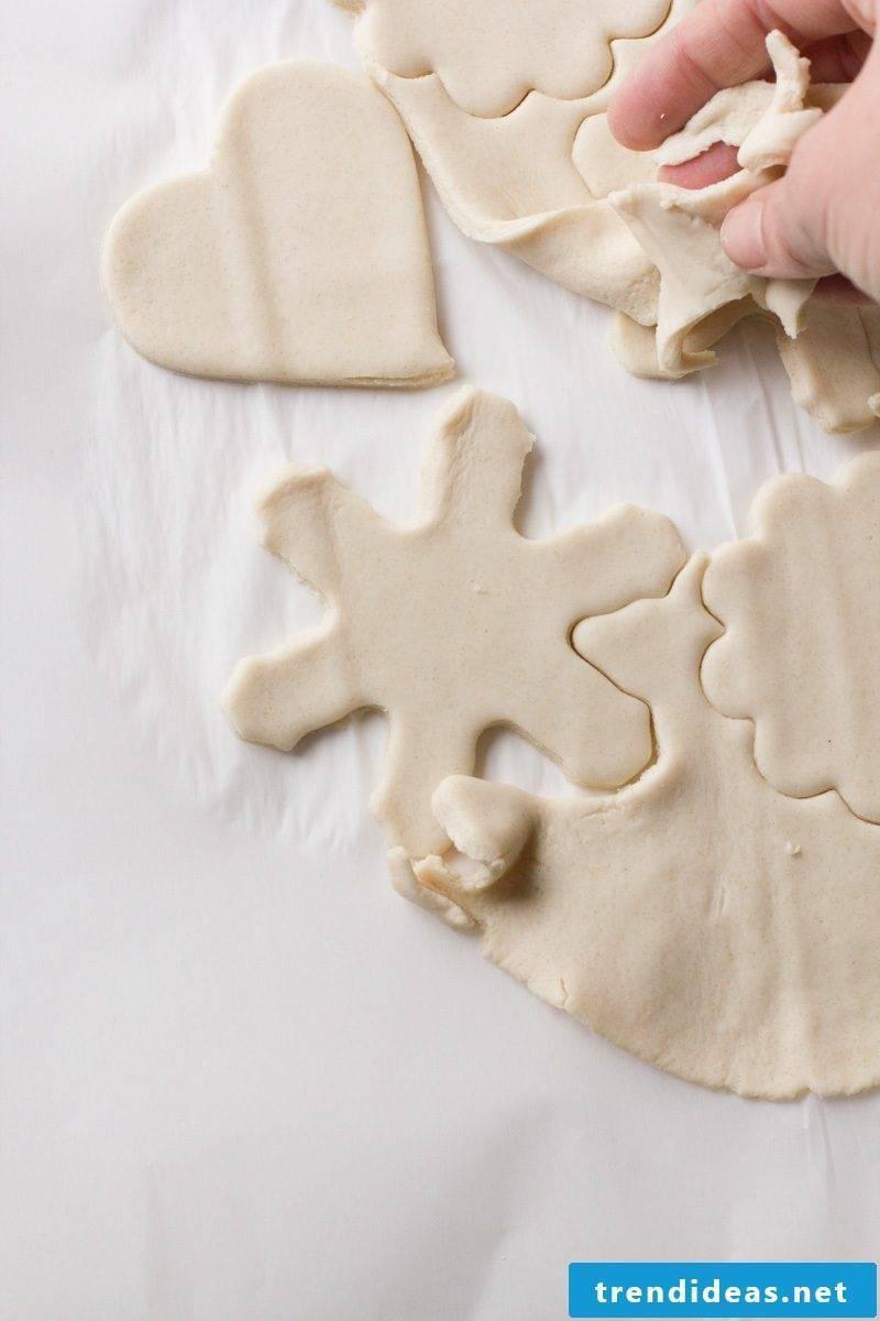 Salt dough Christmas - instructions