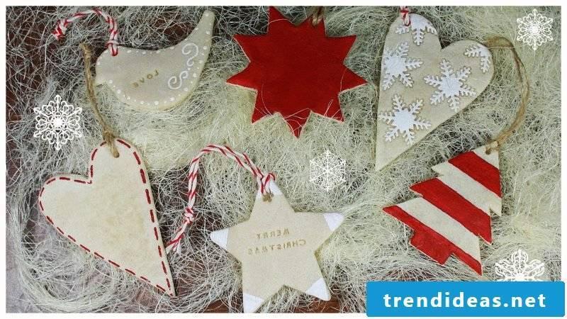 Salt dough Christmas Christmas tree decorations