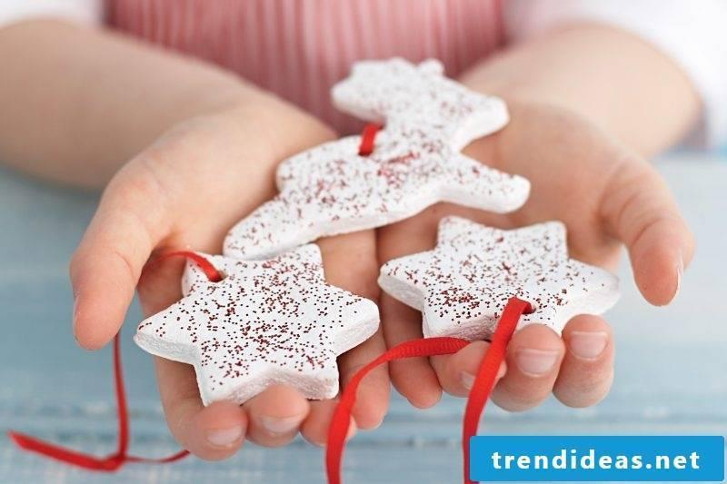 Salt dough Christmas is perfect for children