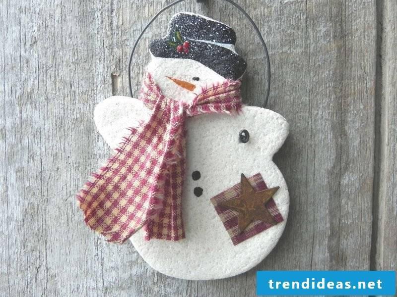 Salt dough Christmas Santa Claus making