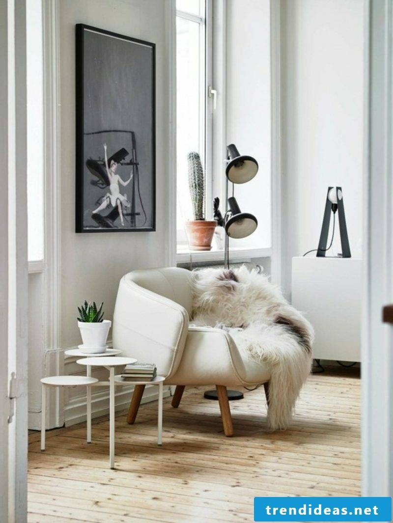 Scandinavian furniture living room original armchair